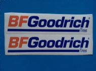 BF GOODRICH sticker/decal x2